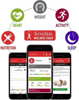 Application Wellness Coach Terraillon