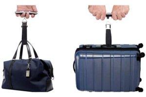 pèse bagage et valise
