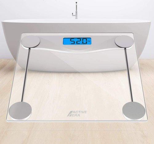 meilleur pèse personne design en verre