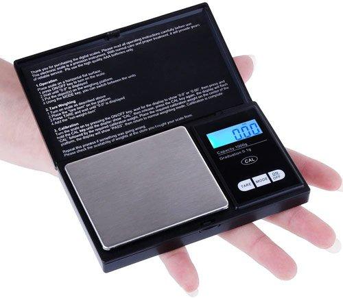mini balance électronique de poche de précision 0,01g pas chère