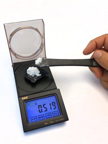 mini balance électronique de poche précision 0,001g